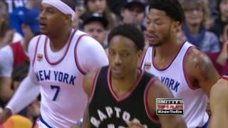 New York Knicks at Toronto Raptors- January 1...