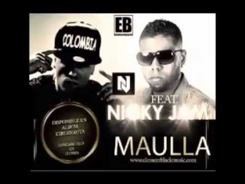 Element Black & Nicky Jam - Maulla mp3 baixar