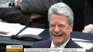 Joachim Gauck - Vereidigung des Bundespräsidenten (2012)