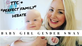 TTC Gender Sway for a Baby Girl & Gender Disappointment