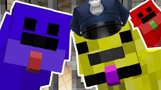 CUTE PUPPY COPS AND ROBBERS HIDE AND SEEK MOD - Minecraft Mod (PUPPY PRISON)