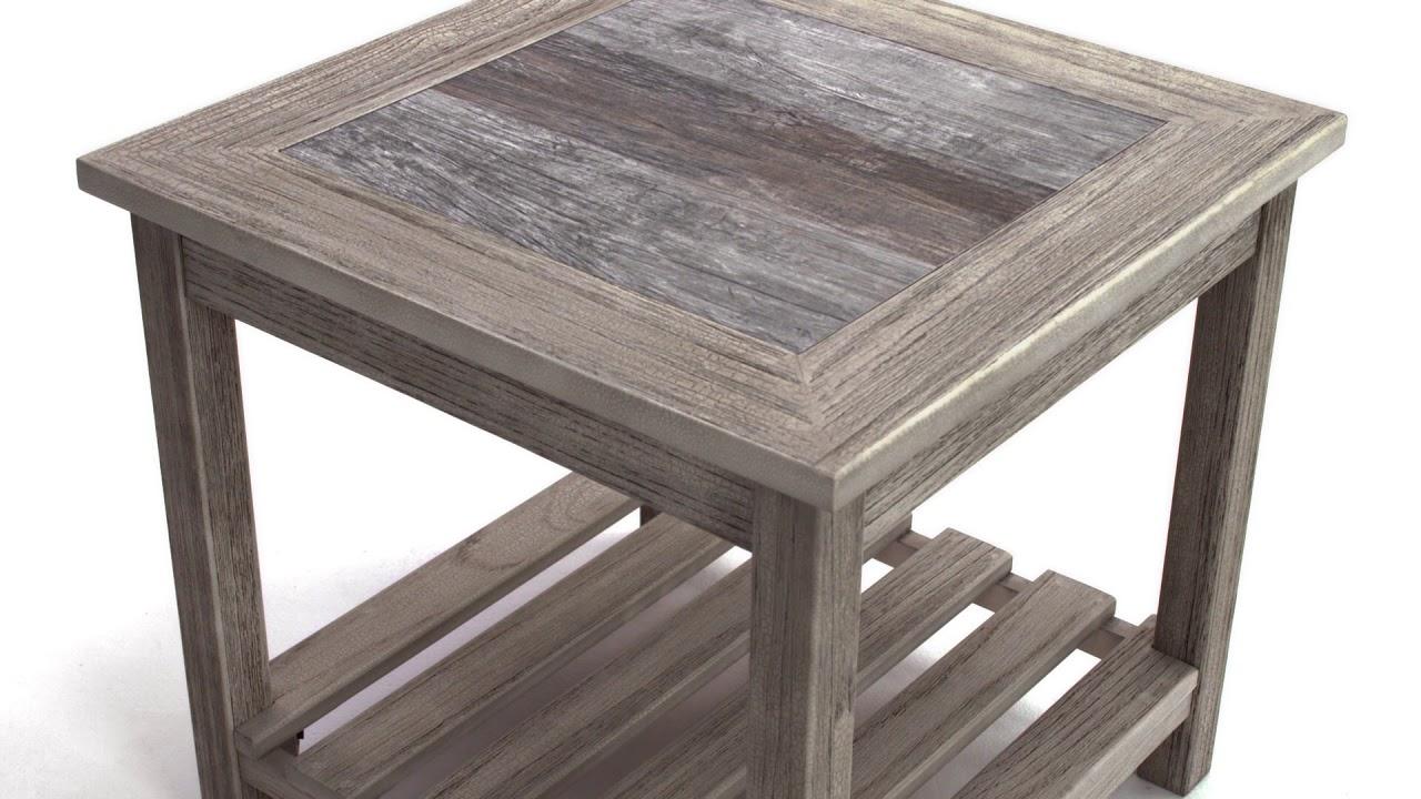 Ashley HomeStore Veldar End Table YouTube - Ashley veldar coffee table