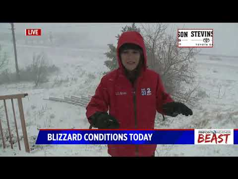 Blizzard hits Colorado