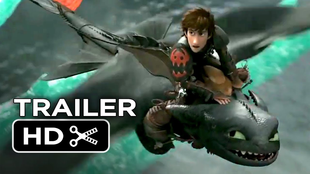 How To Train Your Dragon 2 Official Trailer 2 2014 Animation Sequel Hd Youtube