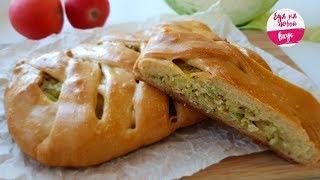 Пирог, который Покоряет легкостью и быстротой! Сочный рецепт на кефире с капустой