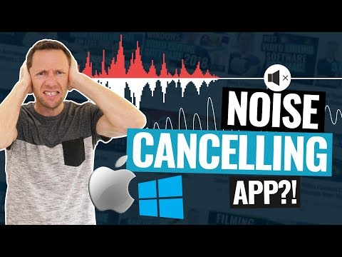 NOISE CANCELLING App For PC & Mac?! (No More Background Noise!)