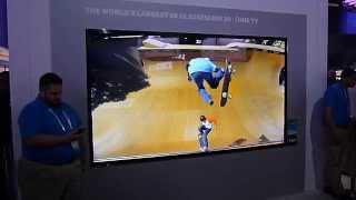Samsung's Glassless 3D UHD TV