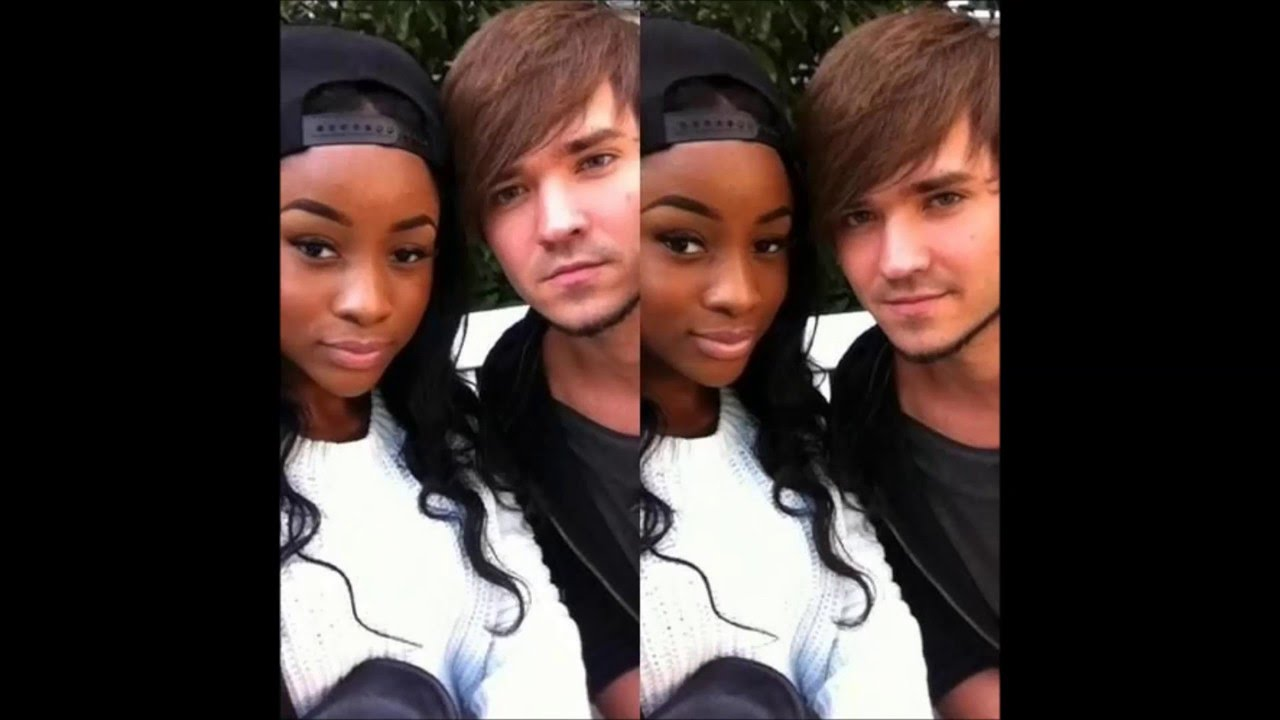 Black girl dating white guy