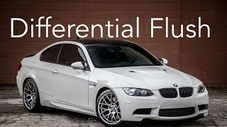 E92 M3 Differential Flush