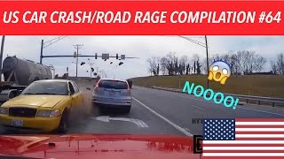 🇺🇸 [US ONLY] US CAR CRASH/ROAD RAGE COMPILATION #64 [40K Subs Edition]