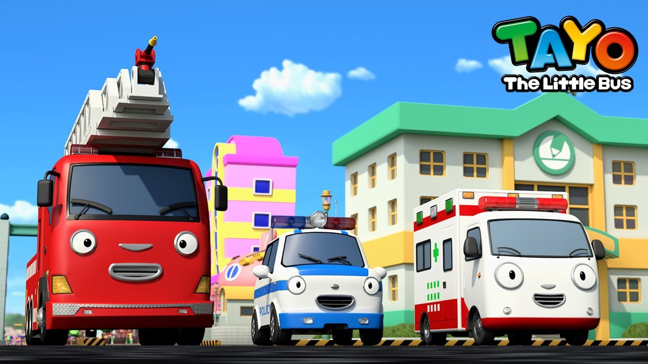 *NEW* Brave Rescue Team +Compilation l The Brave Cars l Rescue Team Song l Tayo the Little Bus