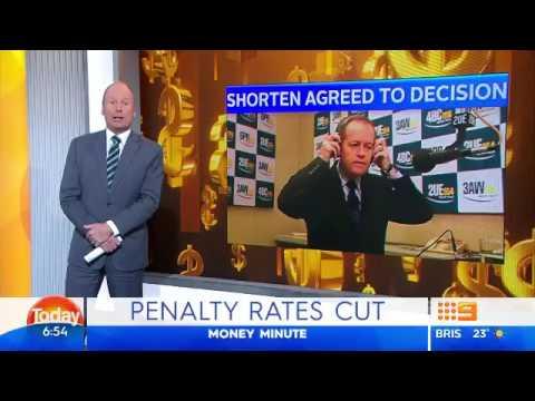 "Money Minute - June 6 2017 ""Penalty Rates Cut"""