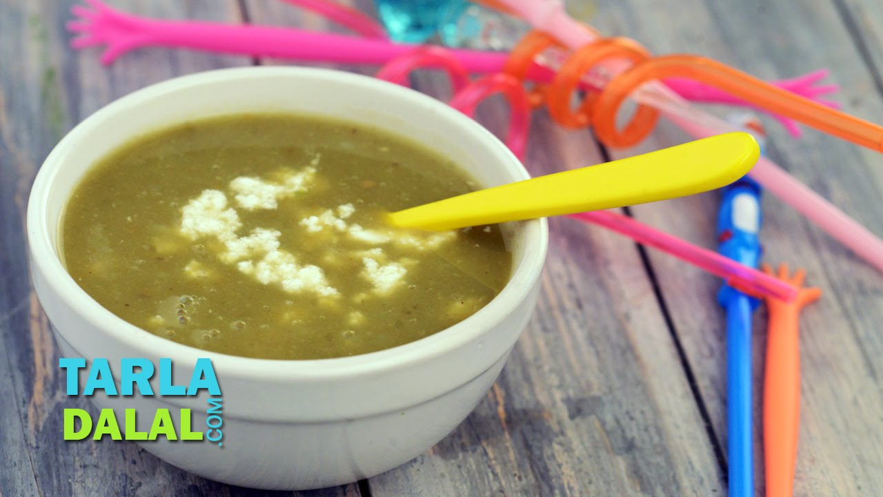 Vegetarian recipes for toddlers by tarla dalal
