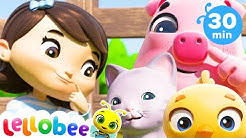 Have You Ever Seen My Nose Song +More Nursery Rhymes & Kids Songs   ABCs and 123s   Little Baby Bum