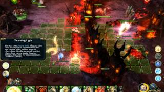 Might & Magic Heroes VI multiplayer gameplay - Game 3 (Haven vs Inferno)