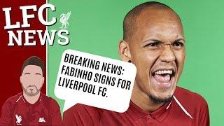 BREAKING NEWS: LIVERPOOL SIGN FABINHO #LFC LATEST TRANSFER NEWS