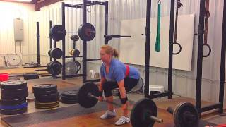 Jana: Epic Clean FAIL! Weightlifting Academy Team