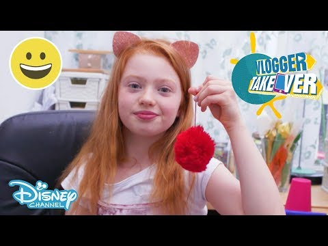 Vlogger Takeover | Pom Pom DIY with Ruby Rose UK! | Disney Channel UK