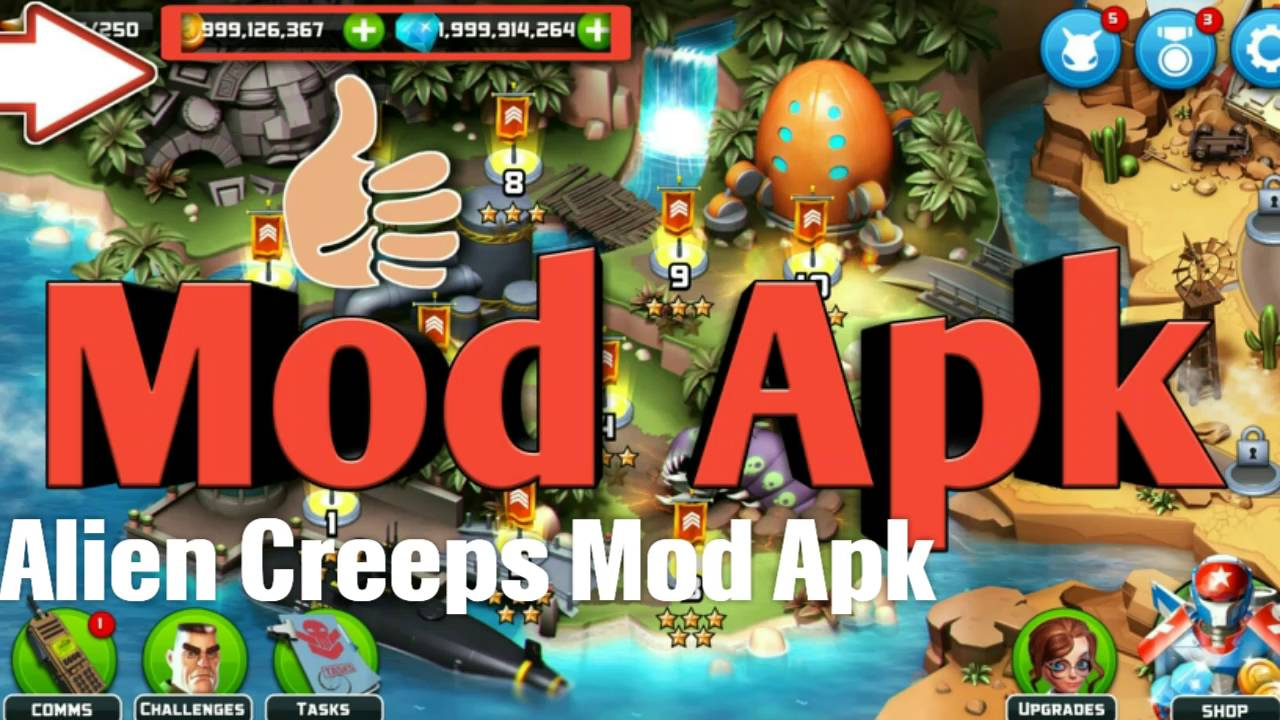 Download Alien Creeps TD Mod Apk | Get Unlimited [Mods/Hacks]