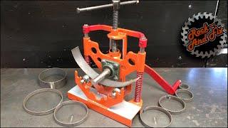Curvadora /Roladora de Solera || Make A Metal Bender