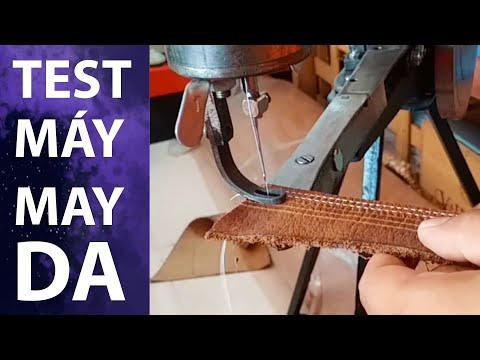 Máy may trung quốc test tại An nam handicraft