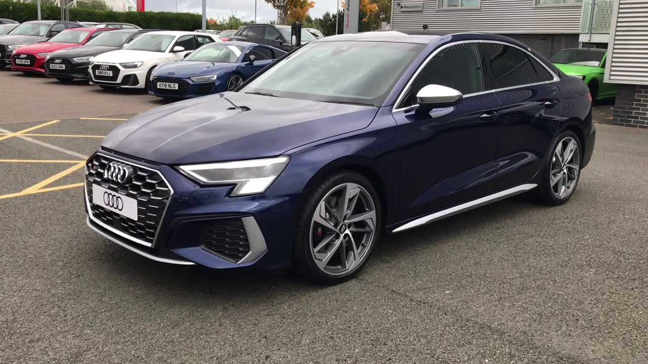 Brand New 2021 Audi S3 Saloon | Stoke Audi - YouTube