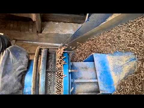 new auto wood pellet machine