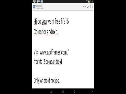 FREE FIFA15 COINS FOR ANDROID