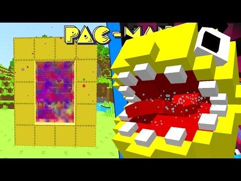 Como Hacer Un Portal A La Dimension De Pacman Minecraft Portales A