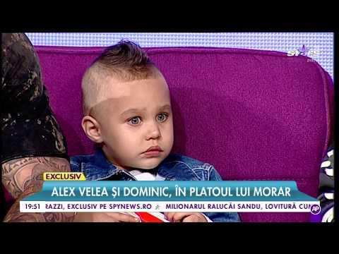 Fiul cel mare al lui Alex Velea l-a salutat pe Mihai Morar ca-n filme