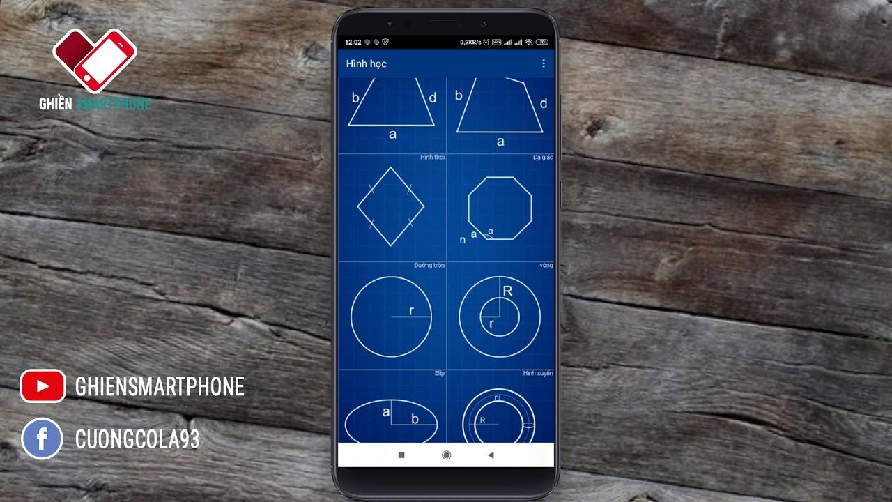 App giúp giải toán hình học dễ dàng cho học sinh | Ghiền Smartphone