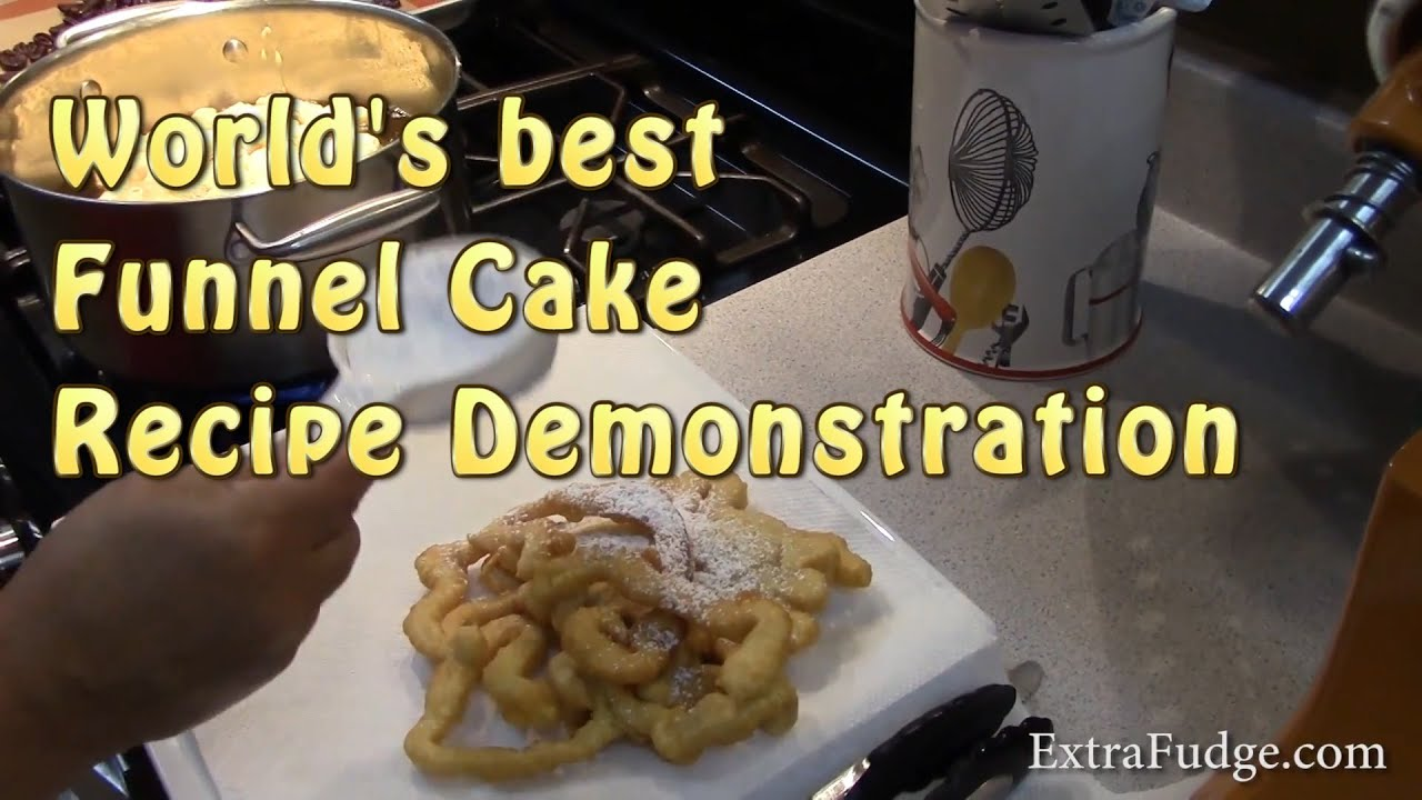 Best Funnel Cake Recipe In The World