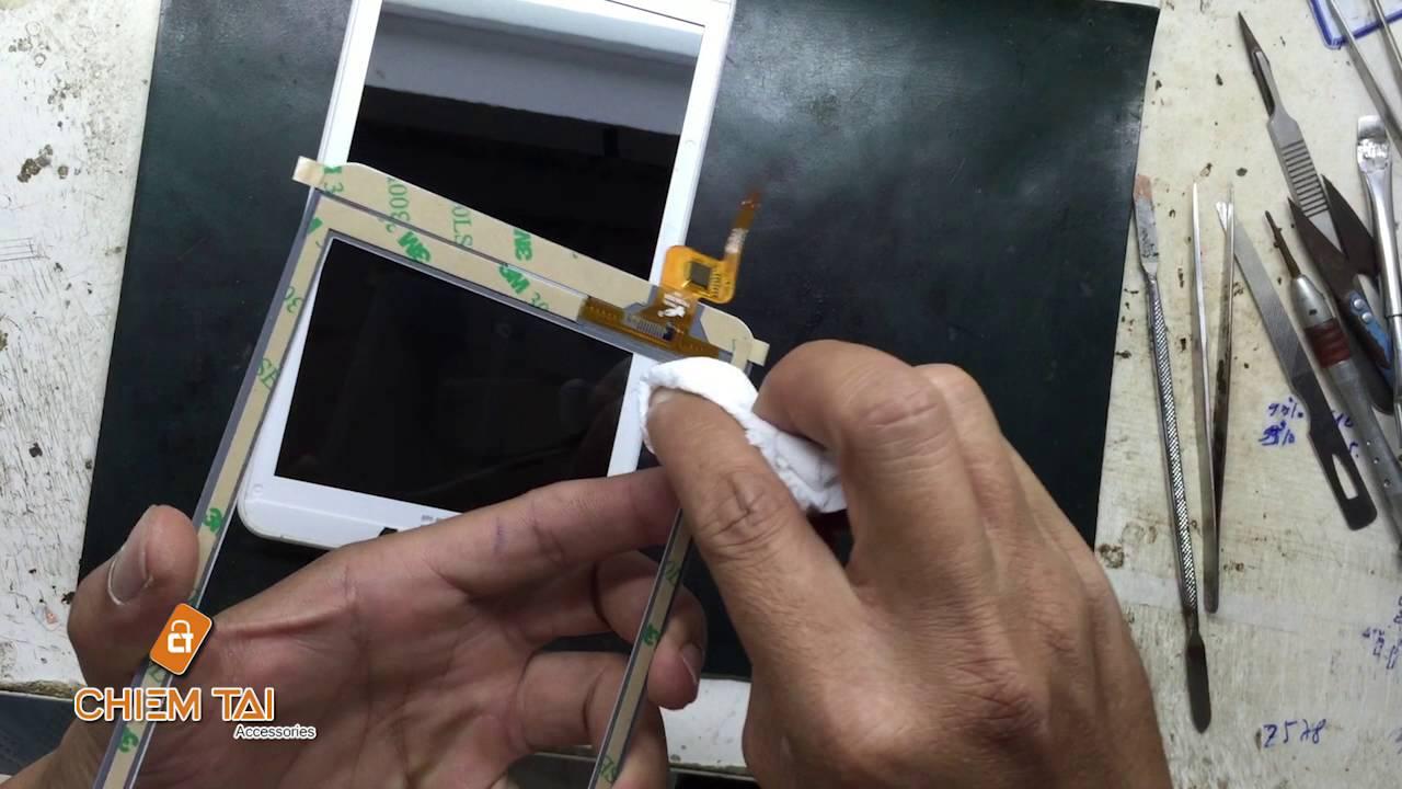 [Chiếm Tài Mobile] – Hướng dẫn thay màn hình máy tính bảng Acer A1-830