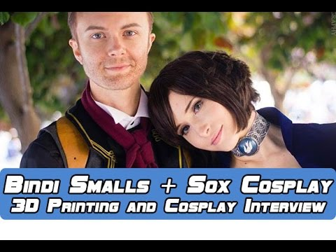 3D Printing and Cosplay Info and Tips with Bindi Smalls and Sox Cosplay
