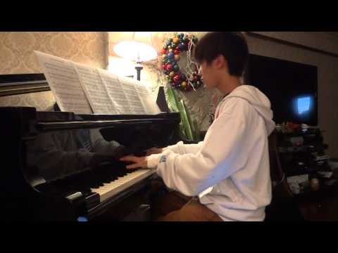 The Wanted - We Own The Night - Piano cover by Jack Chen