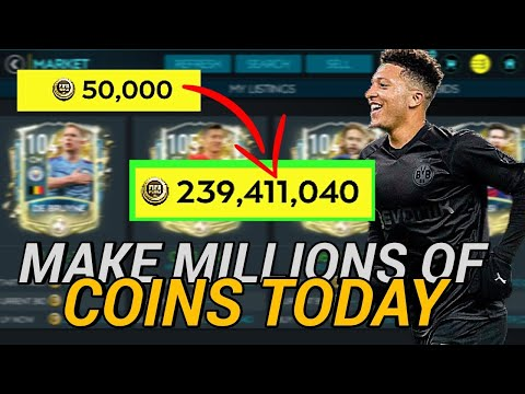 MAKE MILLIONS FAST IN FIFA MOBILE 20 | NO.1 METHOD