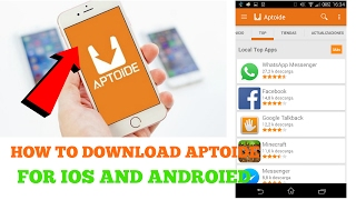 How To Download And Install Aptoide In Android And Ios (Hindi|English)