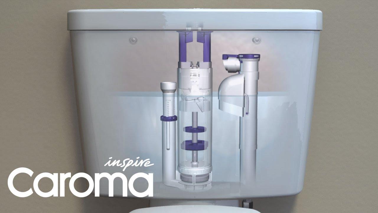 Caroma Retrofit Cistern Convert Your Old Single Flush