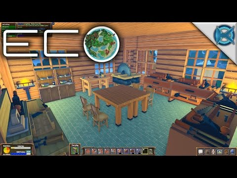 Eco | Full Crafting Room | Let's Play Eco Gameplay | S01E25