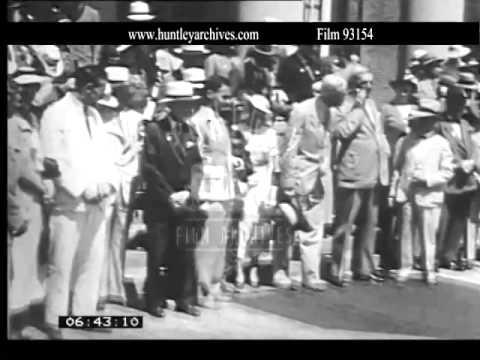 Washington D.C. 1935.  Archive film 93154