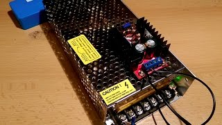 unboxing:cheap power supply 12v + a small test +boost converter!