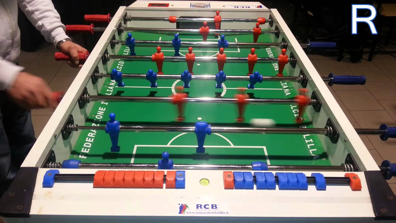 Italian Foosball Shots Valerio Renzetti YouTube - Italian foosball table