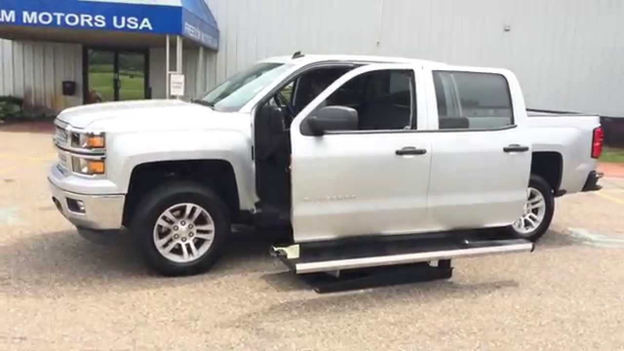 2014 chevrolet silverado crew cab v8 wheelchair lift co doovi. Black Bedroom Furniture Sets. Home Design Ideas
