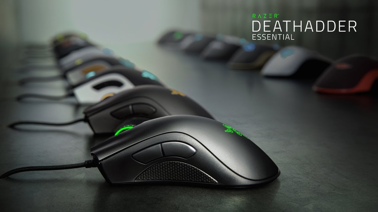 f99b0c2f144 Essential Gaming Mouse - Razer DeathAdder Essential