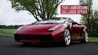 2006 Lamborghini Gallardo Spyder // Lot R463 // From the Michael Fux Collection
