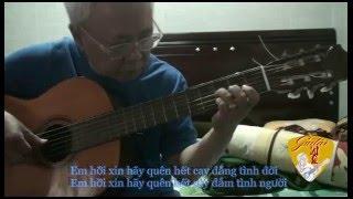 Tình Yêu Đến Trong Giã Từ- Guitar Solo (Nguyễn Ánh 9)