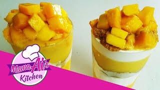Mango Graham Float Smoothies/ Mango Graham Float Shakes