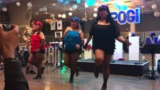 XL Divas with teacher dance choreographer Rhoneil de Castro / Itaktak mo Joey de Leon