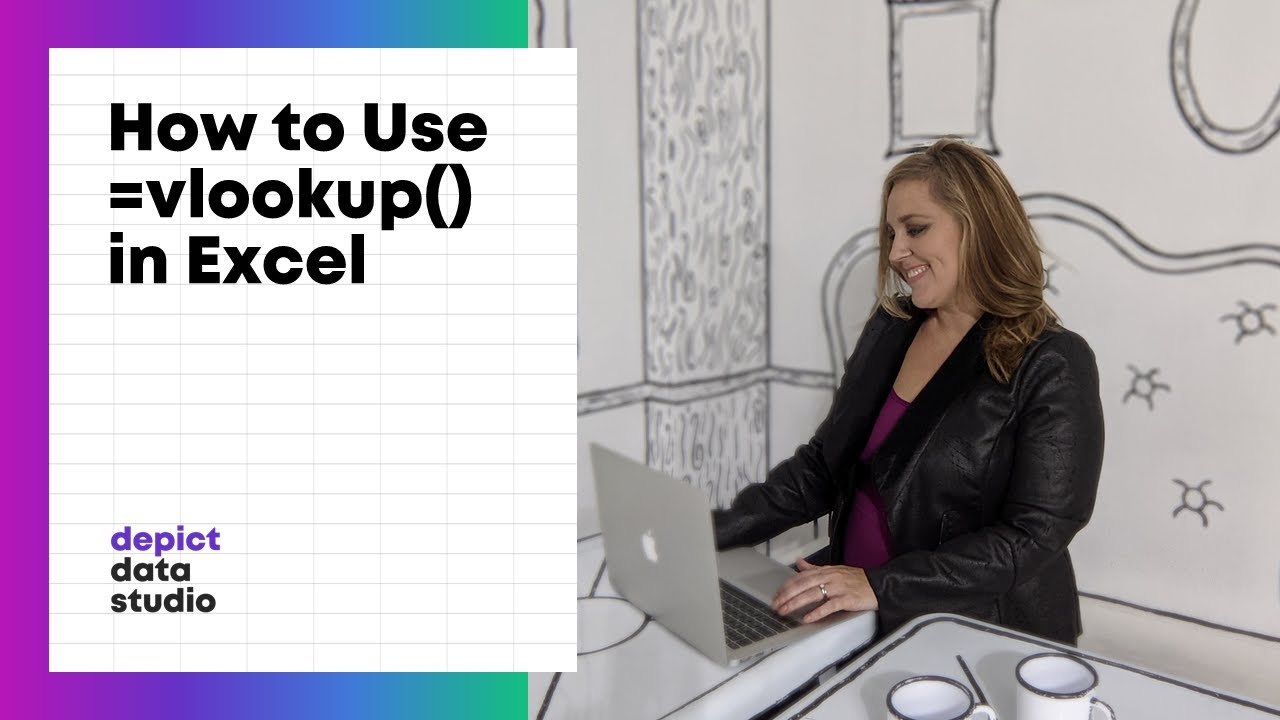 how to insert a vlookup function in excel