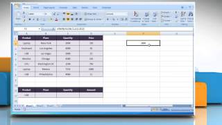 How to use DMIN function in Excel